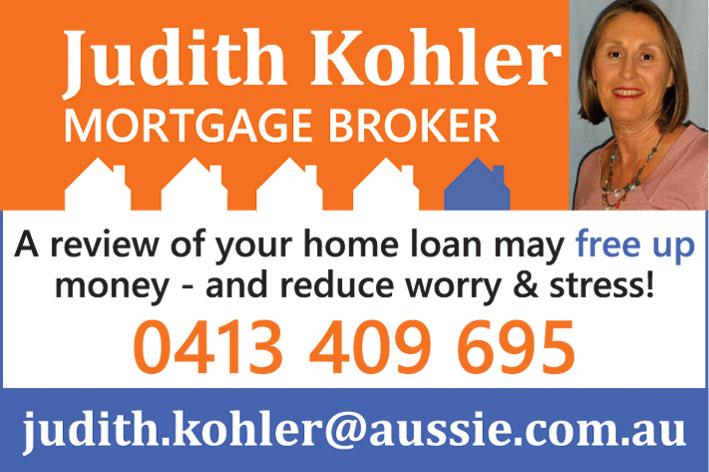 Judith Kohler Mortgage Broker