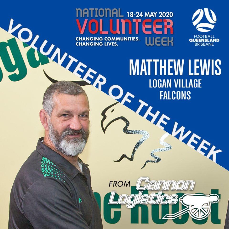 Volunteer Of The Week - Matt Lewis