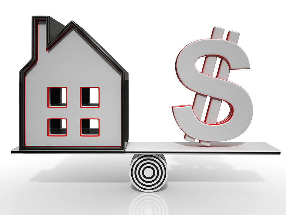Mortgage - House And Dollar Investment Balancing Act