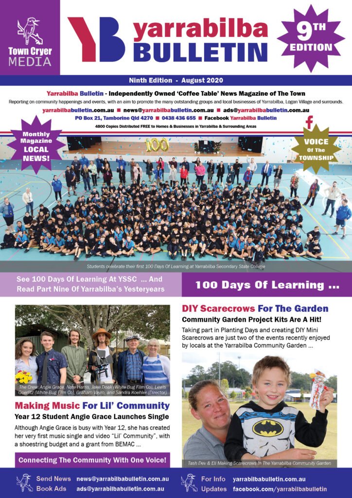 Yarrabilba Bulletin Edition 9 August 2020