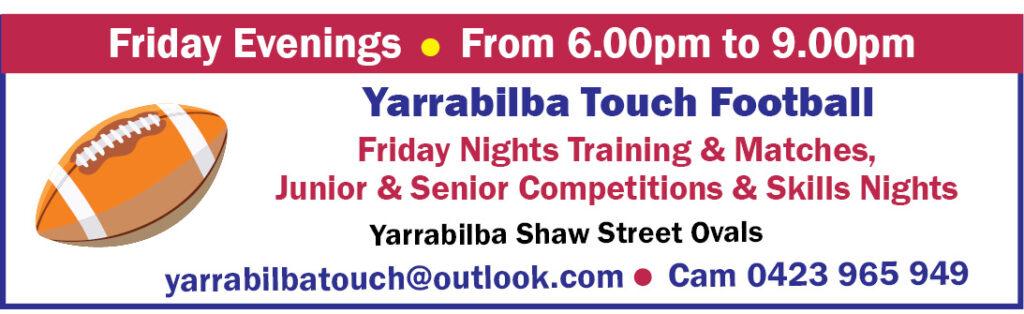Yarrabilba Touch Football