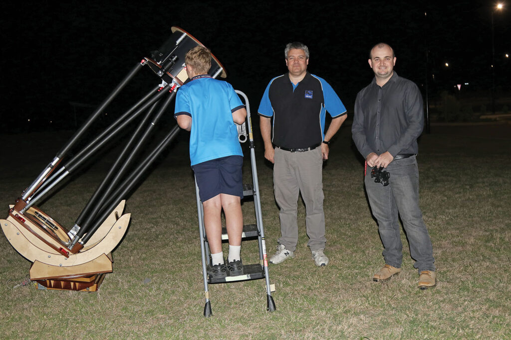 Scenic Rim Astronomy Association Inc at Yarrabilba State Secondary College Science Night