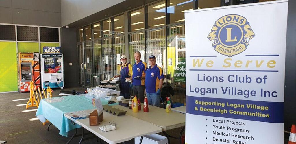 Logan Village Lions Club Sausage Sizzle