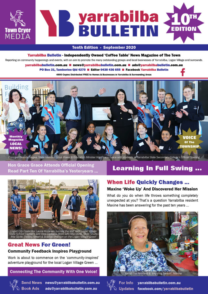 Yarrabilba Bulletin - Edition 10 - Sep 2020