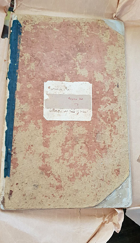 145 Year Old Logan Village State School Visitors' Book - Cover