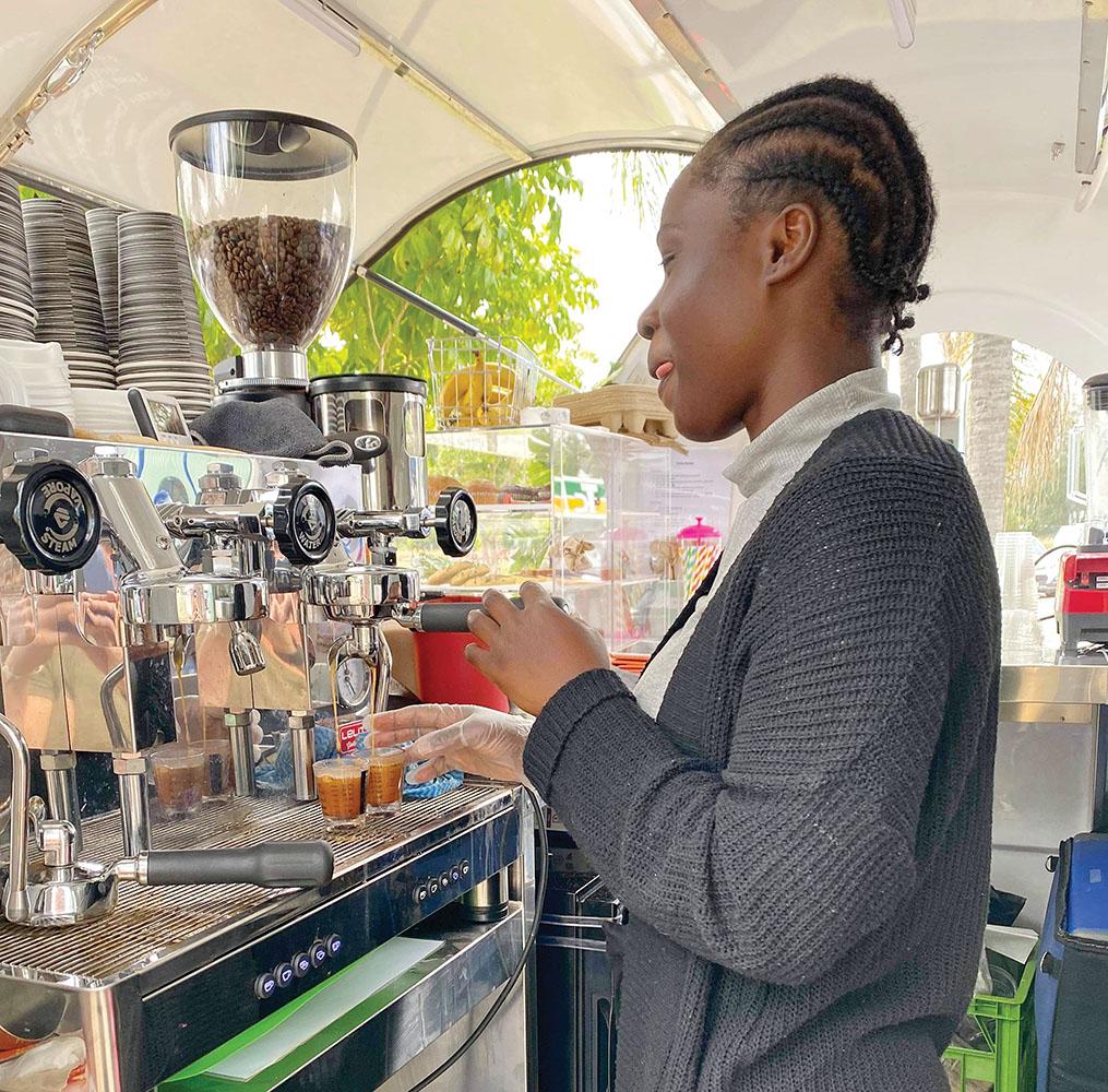 Pop Up Café at Logan Village