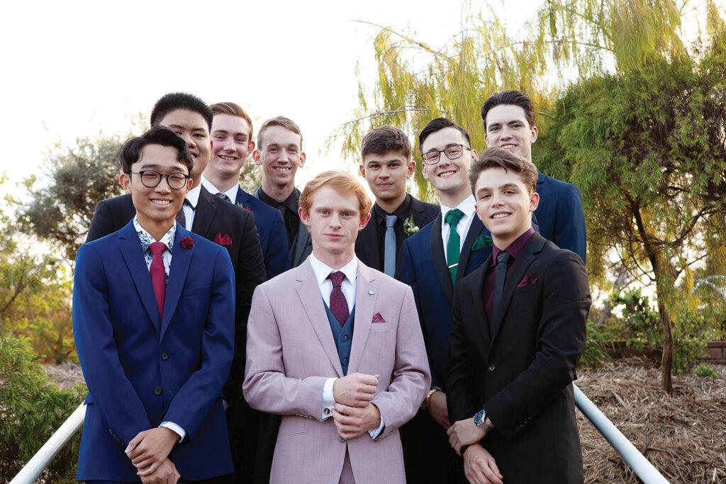 Canterbury College Year 12 Boys