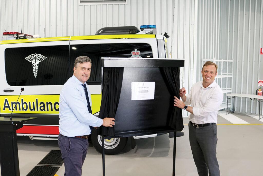 Official Opening Of Yarrabilba Ambulance Station