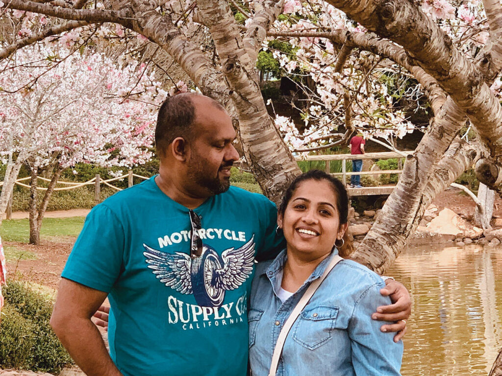 Geogy and Rachel Varghese