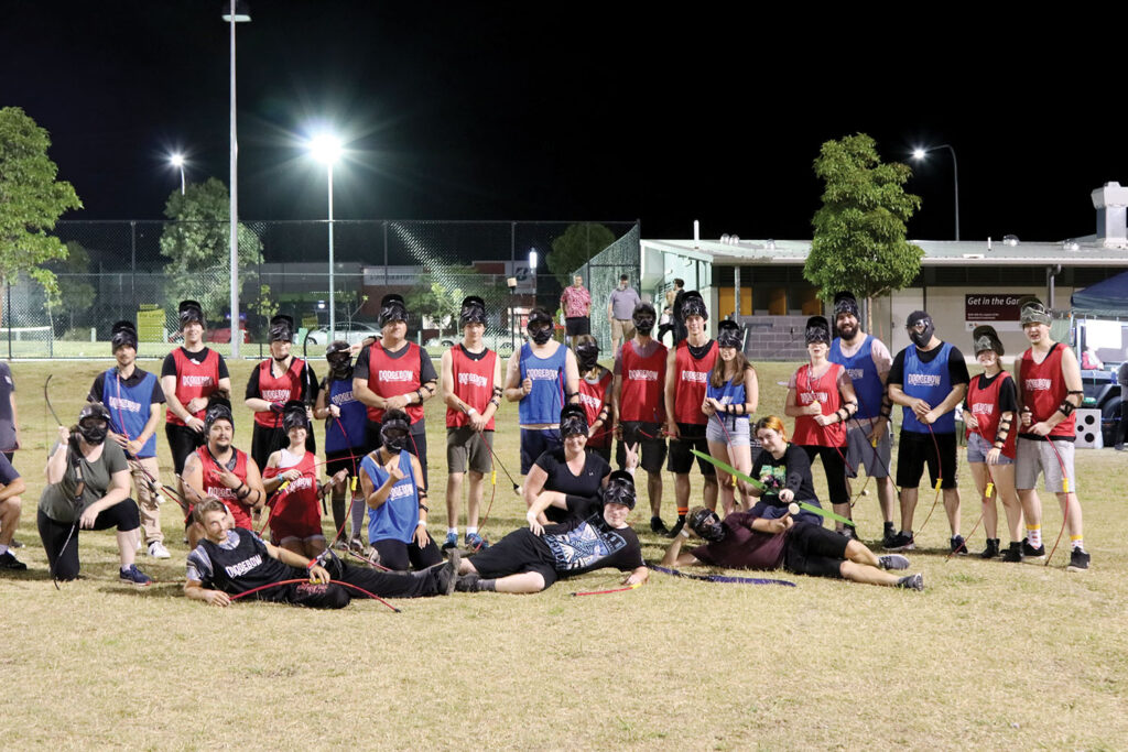 Participants for Launch of First Dodgebow Session