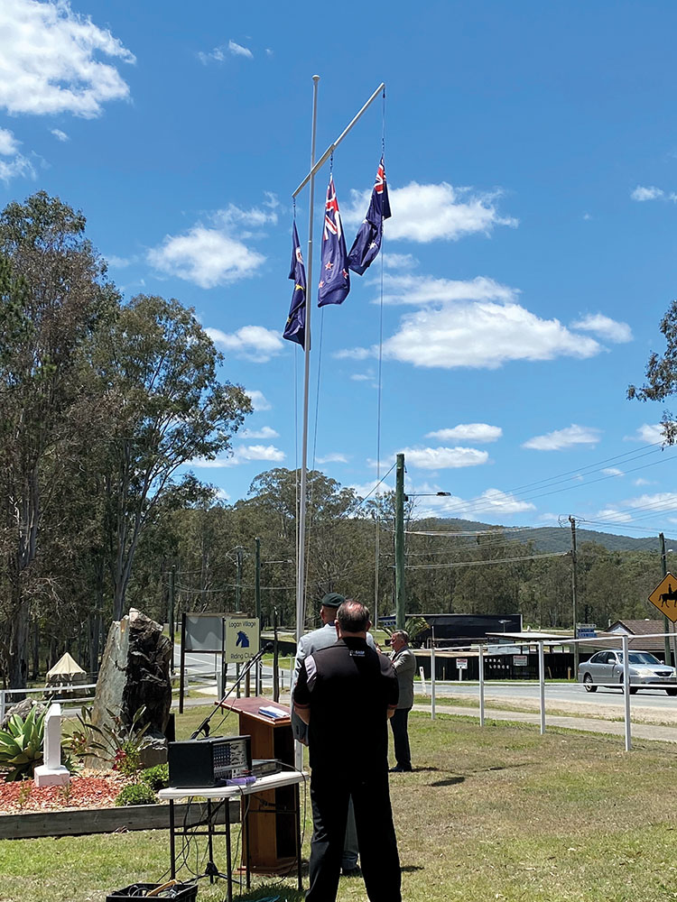 Remembrance Day Service held by Logan Village RSL Sub Branch