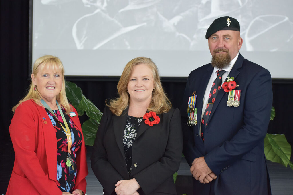 YSS Students Keep The Anzac Spirit Alive