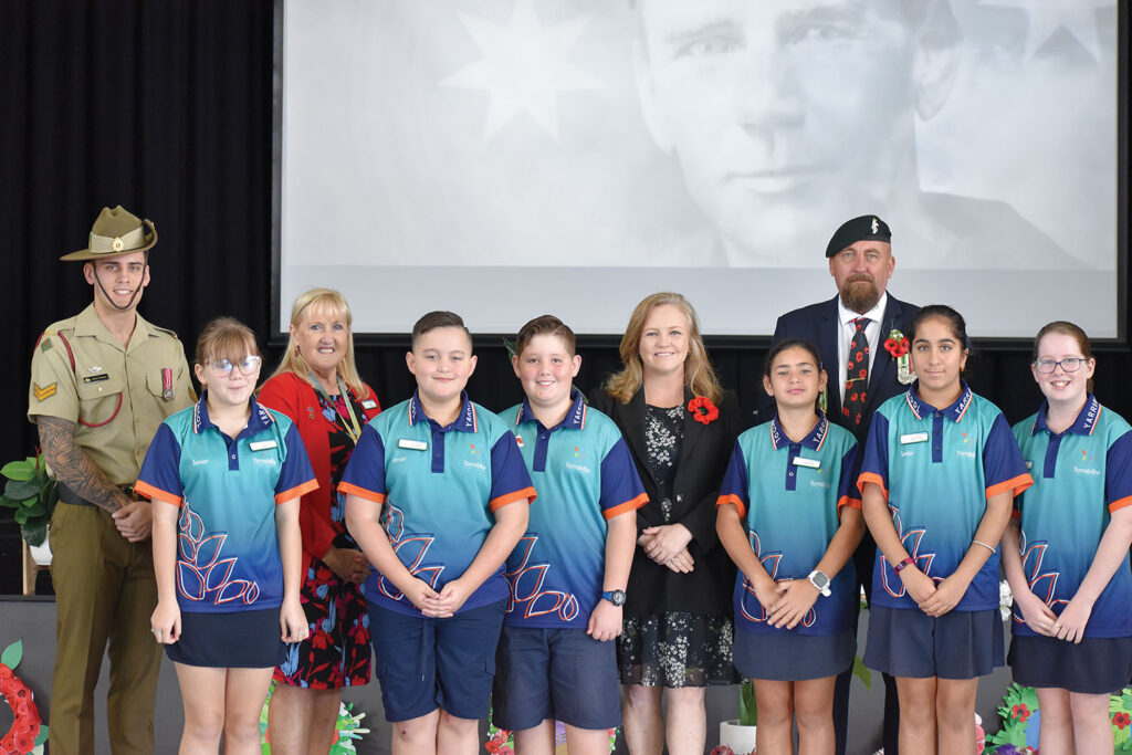 YSS Students Lay Wreaths Keeping The Anzac Spirit Alive