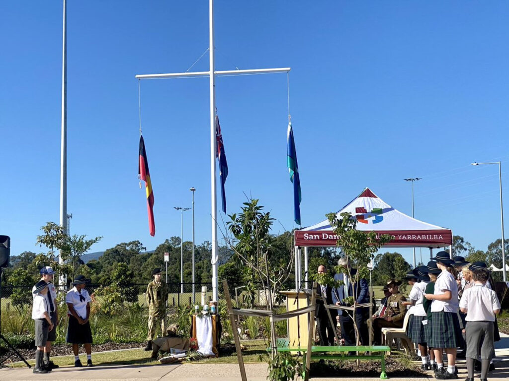 San Damiano Holds Meaningful First Ceremony