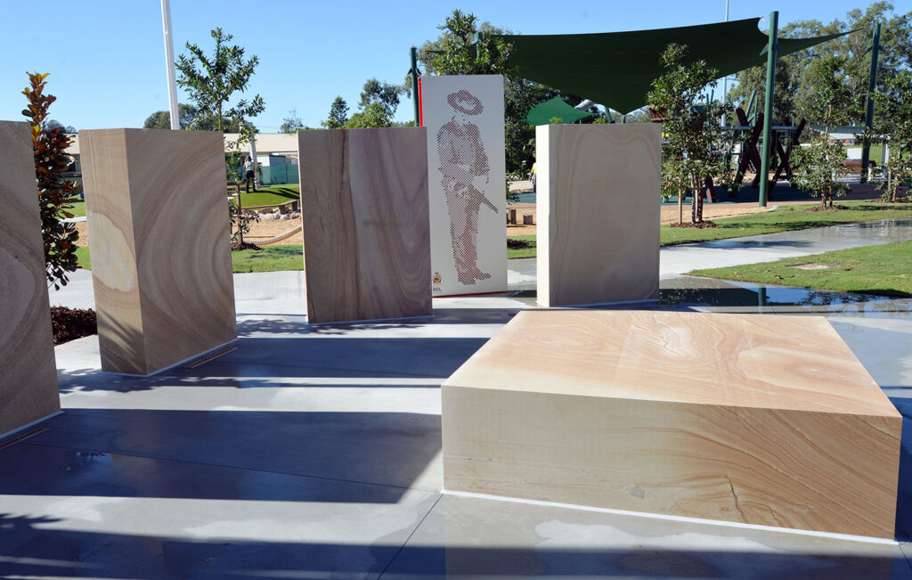 New Village Green Playground - Cenotaph