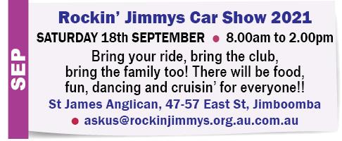 Rockin' Jimmy's Car Show