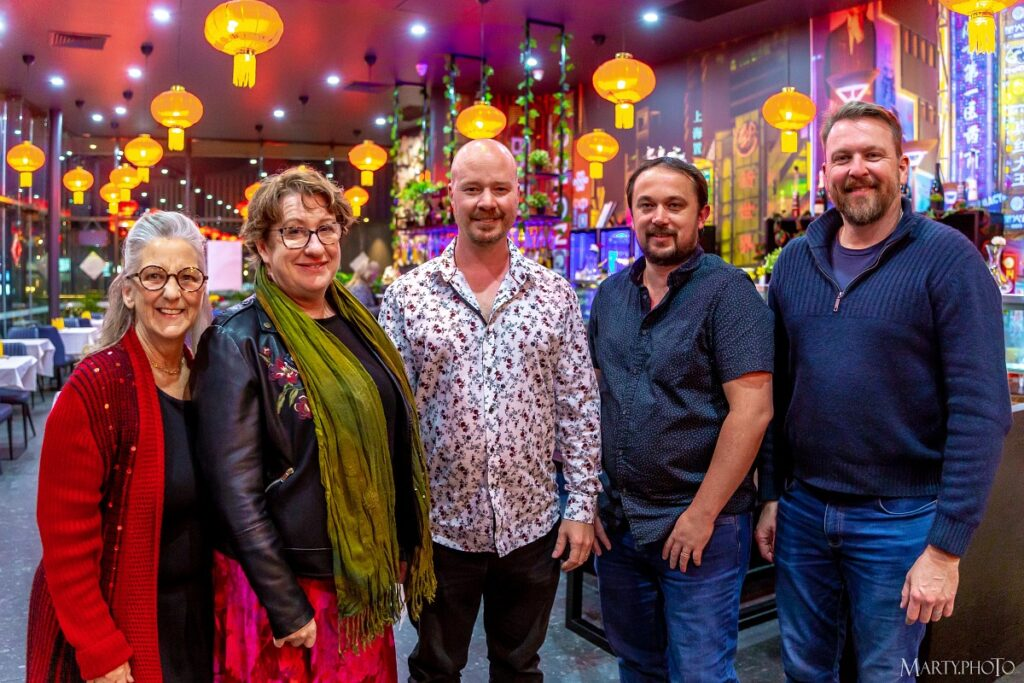 Members of the new Jimboomba Toastmasters executive committee