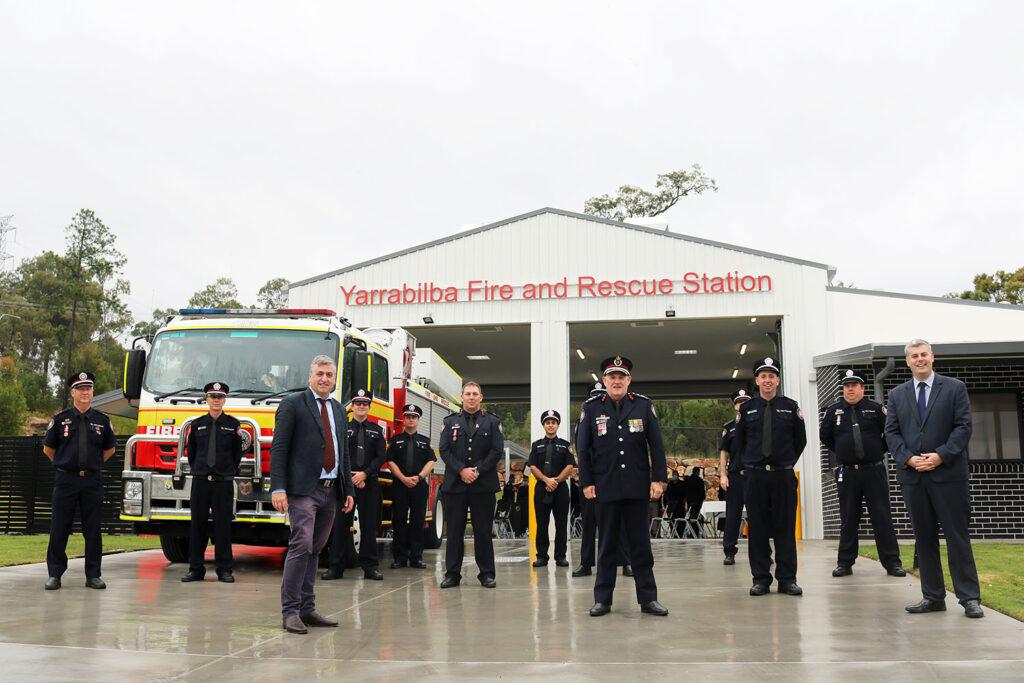 New Fire Station For Yarrabilba