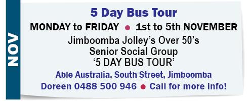 5 Day Bus Tour